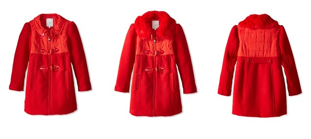 Jacob Lynn, Photography, E-Commerce, Product Stylist, Photo Stylist, Cincinnati, Fashion, Flats, Children, Girls, Coat, Red Coat