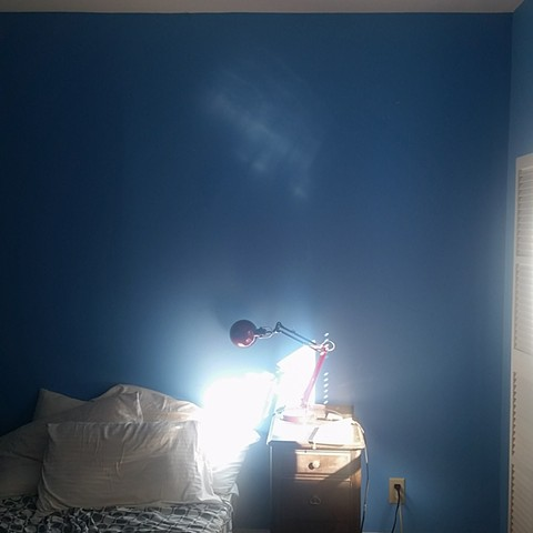 the glowing light in my bedroom