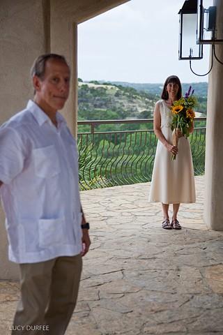 Tom and Cheryl - Chapel Pose
