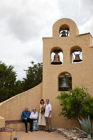 Tom, Cheryl, and Cheryl's Parents (Bells)