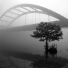 Foggy Bridge No. 3