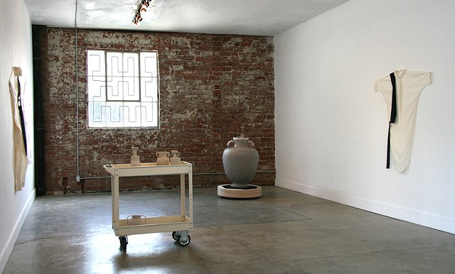 Installation view, Carried on Both Sides