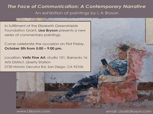 Upcoming Exhibition –The Face of Communication