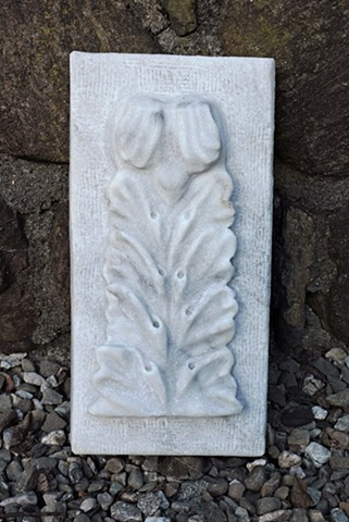 marble, acanthus, relief, carving, stone, Judith Kepner Rose