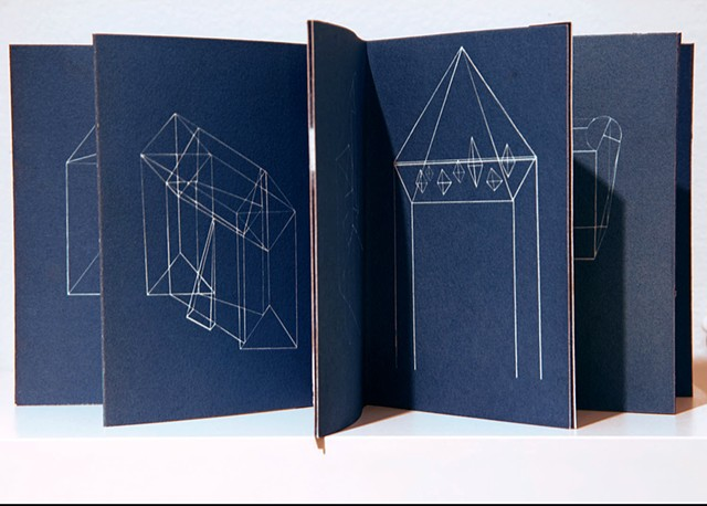 Blue Prints, Artist's Book