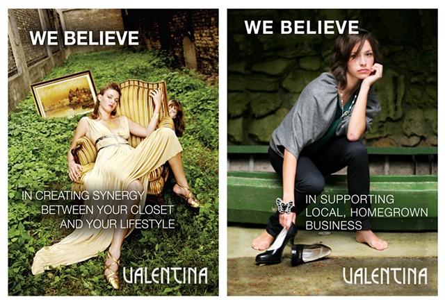 Editorial ads, Valentina