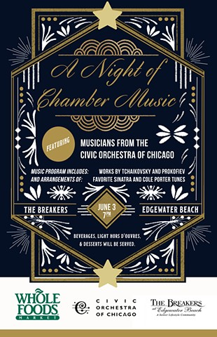 Event Poster, Chicago Civic Symphony