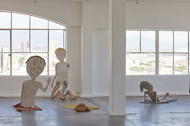 The Viewers (installation view)