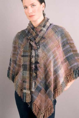 """Desert"" Poncho and Scarf"