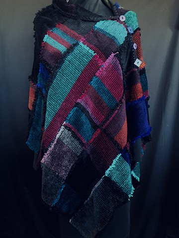 Jewels Patchwork Poncho