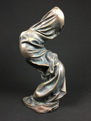 bronze sculpture fabric casting foundry art contemporary sculptor bronze-casting artist