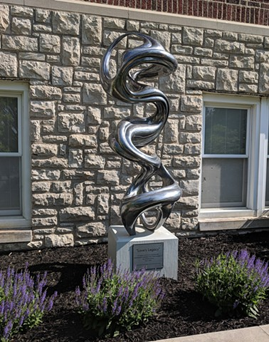 This sculpture was commissioned by Second Baptist Church in Liberty, MO