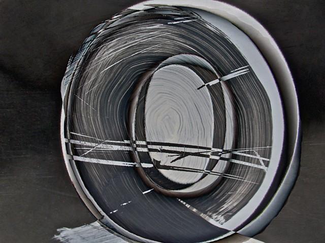 Crystal Ball, Sum Zero, Some Zero, Zero, Abstract art, Hard Edge Art, Digital photography, color photography, Computer art, Computer art based off digital altered photographs
