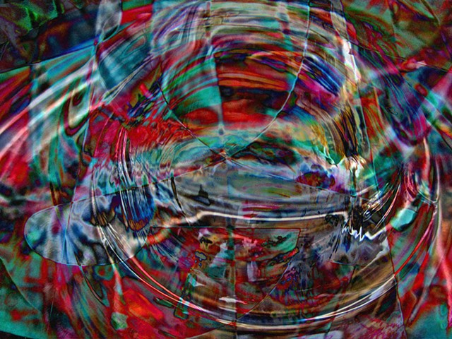 Orrery, Abstract art, Hard Edge Art, Digital photography, color photography, Computer art, Computer art based off digital altered photographs