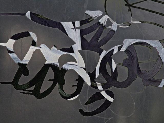 Alexander Calder, Joan Miro, Graffiti, Graffiti art, Abstract art, Hard Edge Art, Digital photography, color photography, Computer art, Computer art based off digital altered photographs