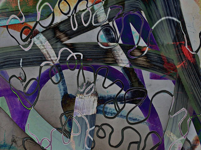 Graffiti, Graffiti Art, Calligraphy, Computer art based off of digital altered photographs