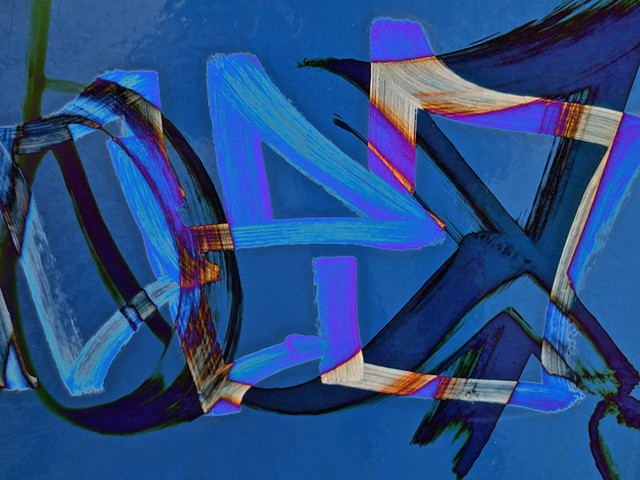 Graffiti, Graffiti Art, Calligraphy, Hard Edge Abstract Art, Photographs, Computer art based off of digital altered photographs