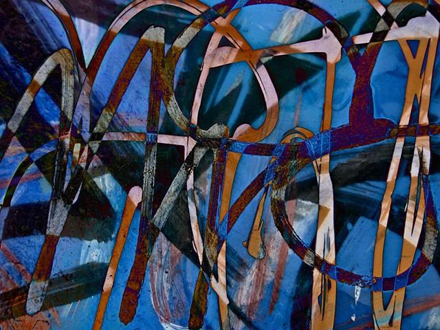 Graffiti, Graffiti Art, Calligraphy, Abstract Art, Photographs, Computer art based off of digital altered photographs