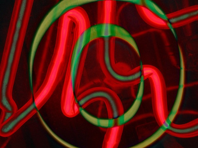 Plumping, Sink Plumping, Neon, Sum Zero, Some Zero, Zero, Abstract art, Hard Edge Art, Digital photography, color photography, Computer art, Computer art based off digital altered photographs