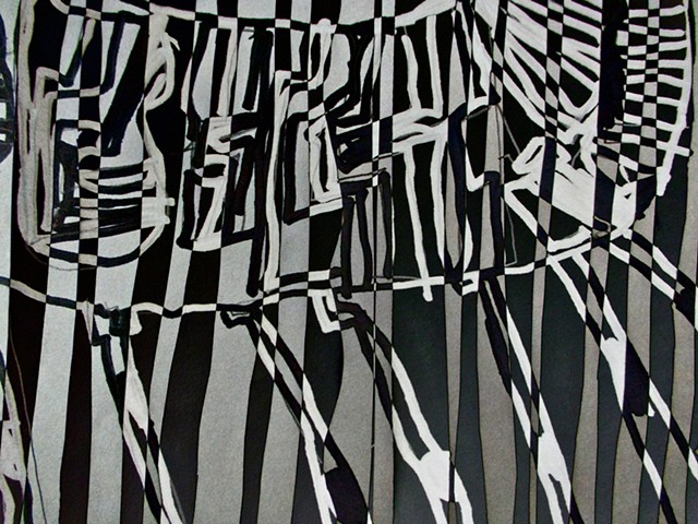 Zebra, Op Art, Abstract art, Hard Edge Art, Digital photography, color photography, Computer art, Computer art based off digital altered photographs
