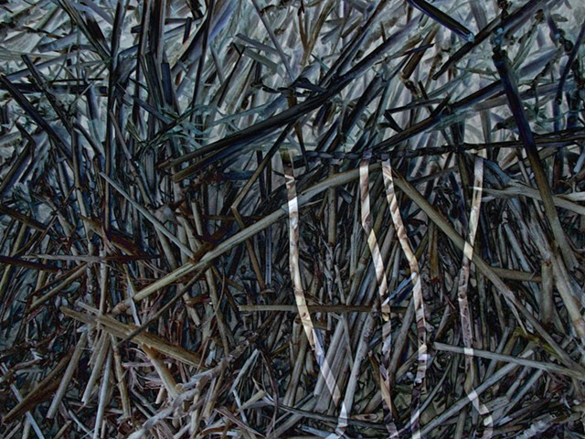 Straw, Abstract art, Hard Edge Art, Digital photography, color photography, Computer art, Computer art based off digital altered photographs
