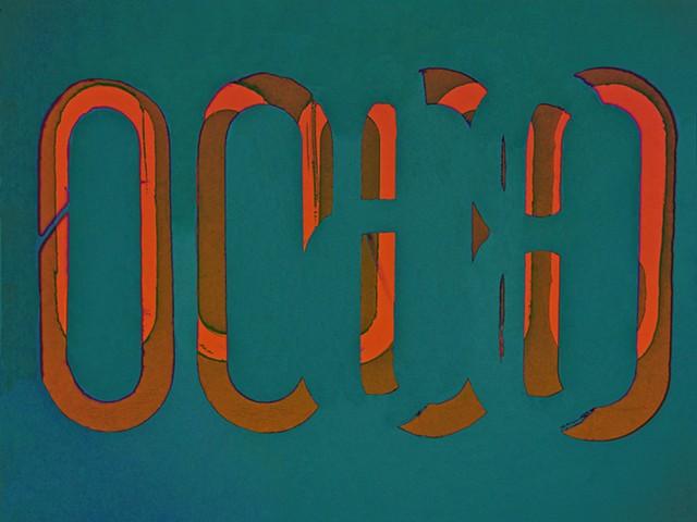 Sherds, Pottery Sheards, Shards, Pottery Shards, Sum Zero, Some Zero, Zero, Abstract art, Hard Edge Art, Digital photography, color photography, Computer art, Computer art based off digital altered photographs