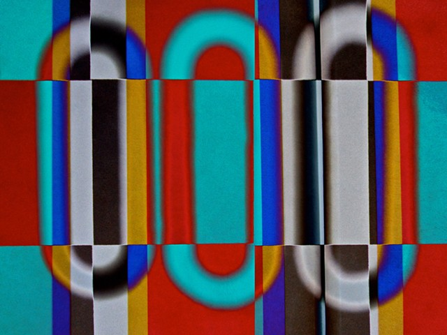 Retro 60's Fashion, Sum Zero, Some Zero, Zero, Abstract art, Hard Edge Art, Digital photography, color photography, Computer art, Computer art based off digital altered photographs