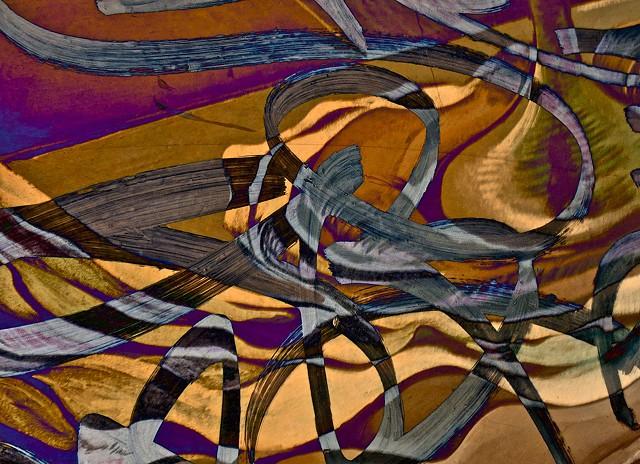 Computer art based off of digital altered photographs.