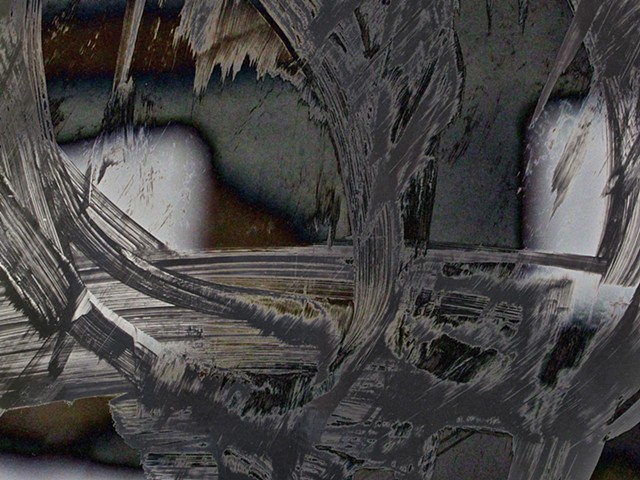 Ice Caves, Abstract art, ABX art, ABEX ART, Digital photography, color photography, Computer art, Computer art based off digital altered photographs