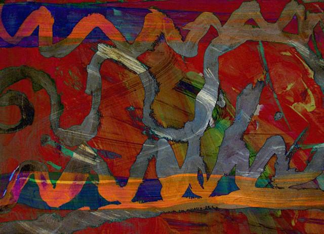 Graffitti, Abstract art, ABX art, Digital photography, color photography, Computer art, Computer art based off digital altered photographs