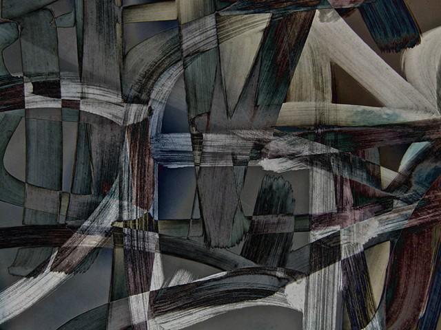 Graffiti, Graffiti Art, Calligraphy, Abstract Art, Hard Edge Art, Colors Photographs, Digital Photograph, Computer art based off of digital altered photographs