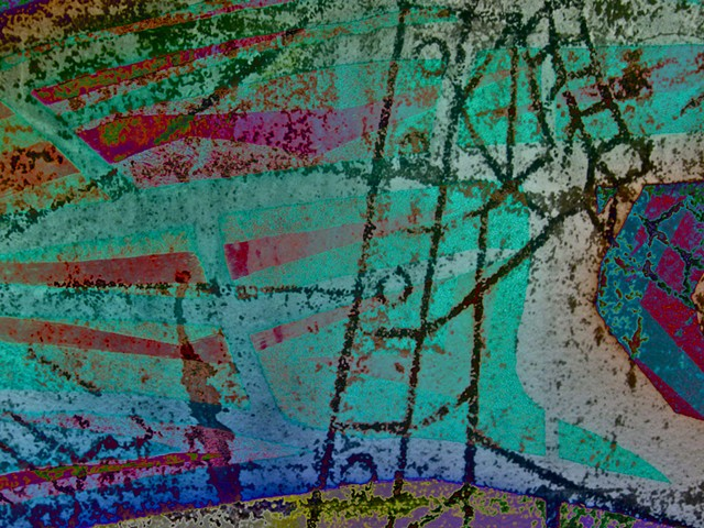 Abstract Art, Digital Photograph, Color Photograph, Computer art based off of digital altered photographs.