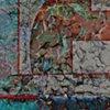 December 2020,  Ancient Mural Symbol Pealing Away