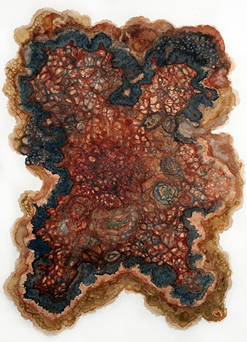 allelopathy, alchemy, talisman, natural pigments, plant pigments, bio art, conceptual art, abstract art