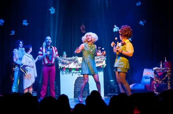 christmas show, rebecca havemeyer stanley roy mitzy myers, north door
