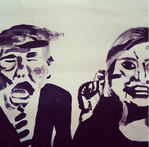 Trump//Clinton