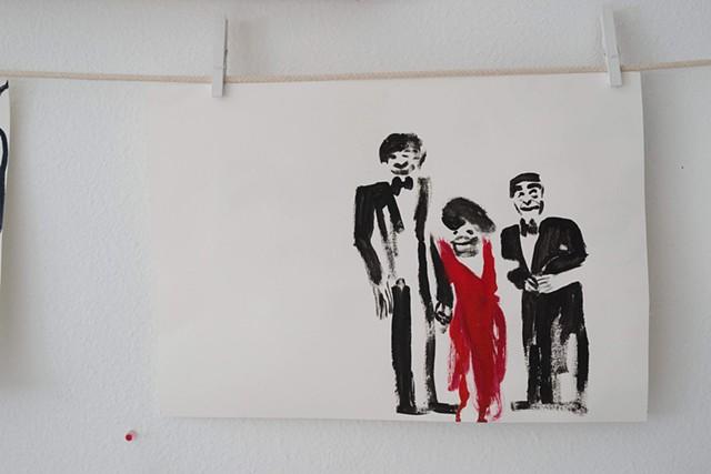nancy reagan, ronald reagan, rock hudson, AIDS art