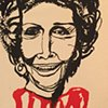 Nancy Reagan Blood Red