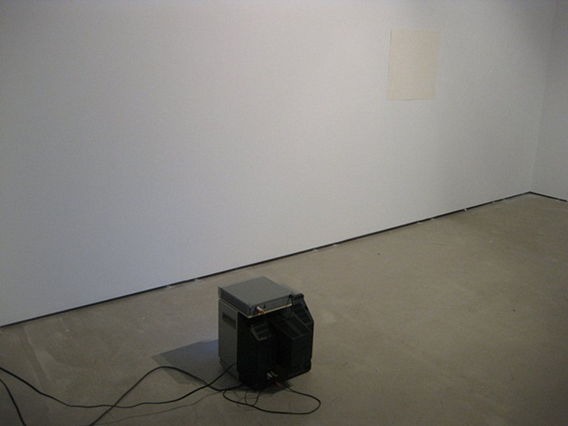 *installation view