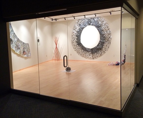 White Construction installation view