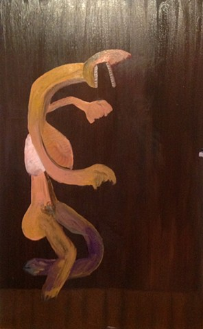 After Goya & Bernhard's Glenn Gould Came Her On Wood Grain...(Music Be the song of life, so sing on?)