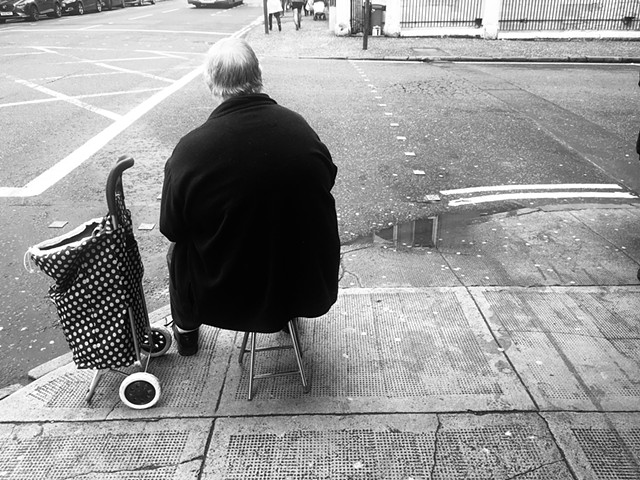 Scottish Man Seated