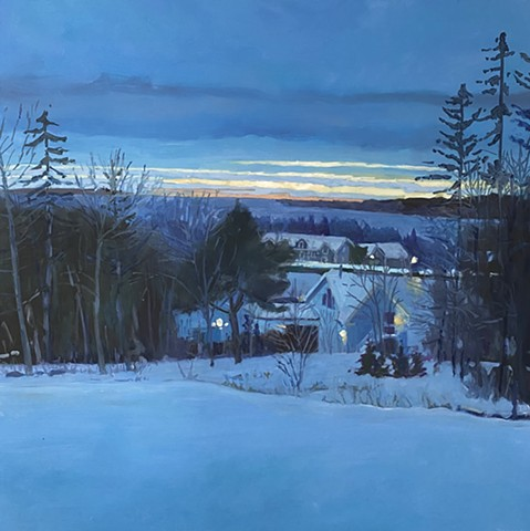 Fisher Hill Twilight  SOLD