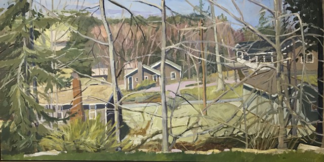 Early Spring, Mill Cove Crest