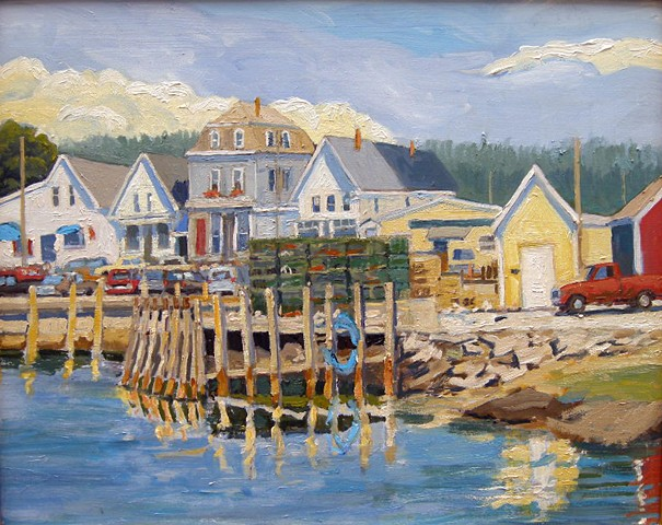 Town Dock, Vinalhaven - SOLD