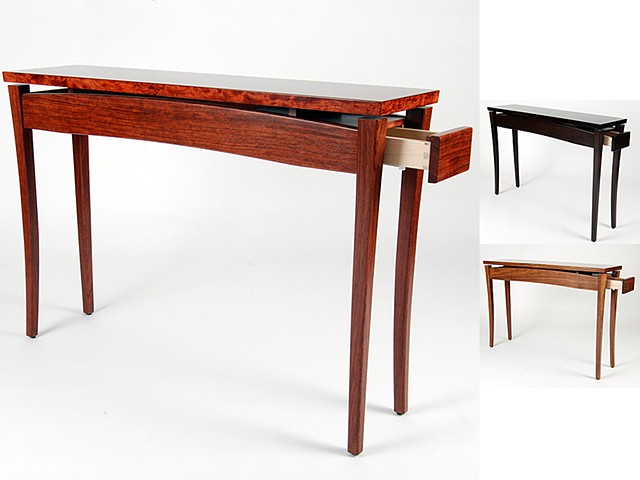 Custom furniture, console table, hand crafted, cabinet-maker, artisan, Toronto