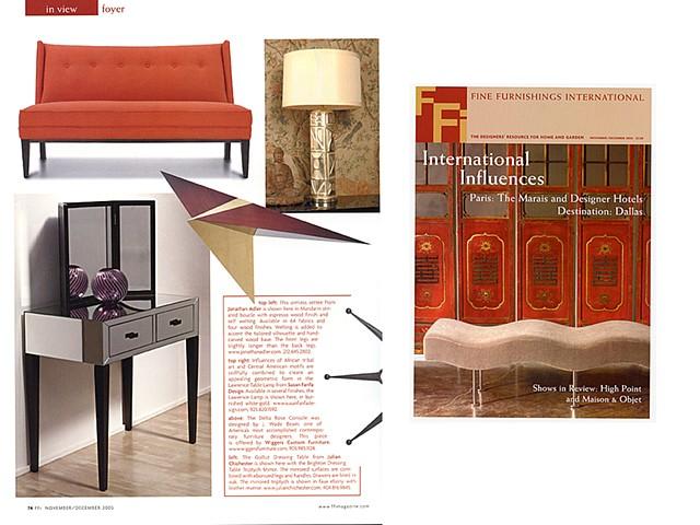 Fine Furnishings International