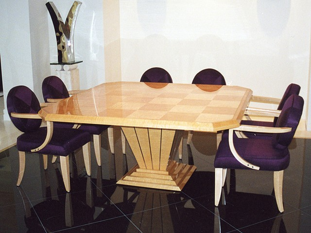 Custom furniture, dining table, cabinet, hand crafted, cabinet-maker, artisan, Toronto, unique, design, original