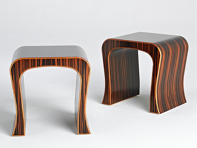 Custom furniture, side table, occasional table, hand crafted, cabinet-maker, artisan, Toronto