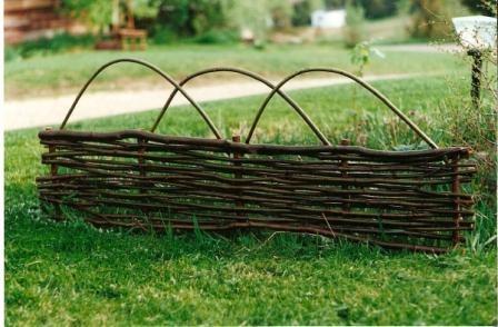 Garden Wattle Fence